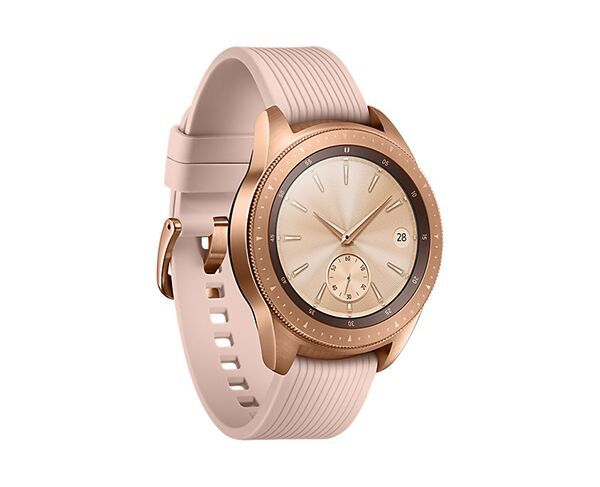 Samsung Galaxy 42mm Rose Gold Smart Watch