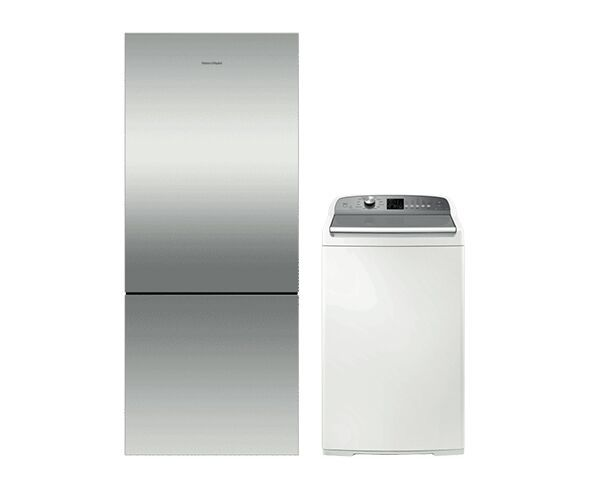 Fisher and Paykel Fridge & Washer Home Bundle