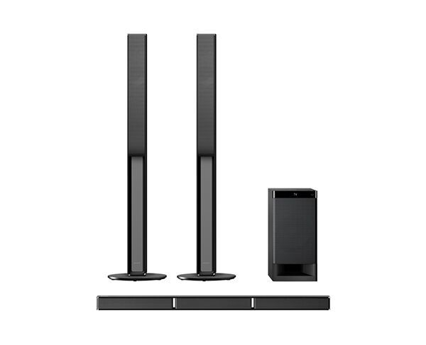 Sony 5.1ch Sound Bar with Tall Boy Speakers