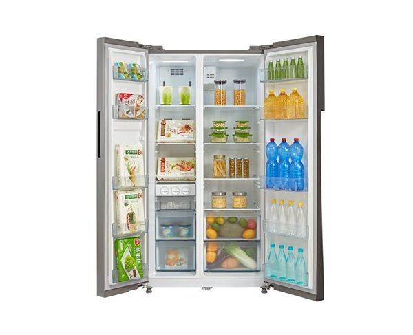 584L Inalto Side by Side Stainless Steel Fridge