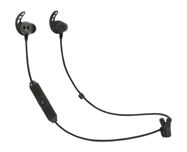 JBL Under Armour React In-Ear Wireless Bluetooth Sport Headphones (Black)