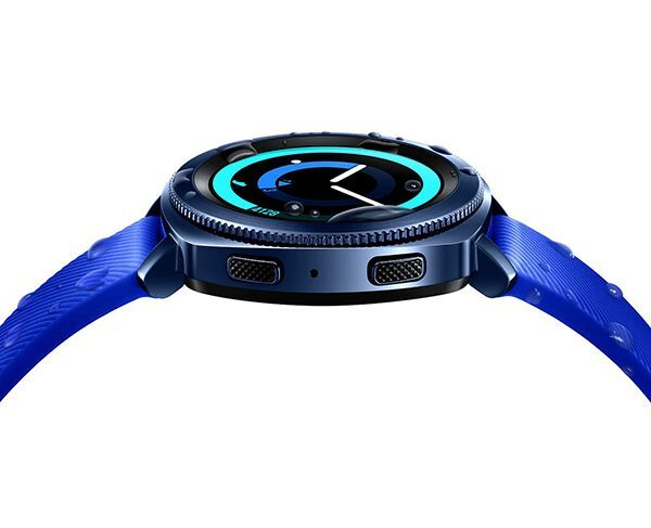 Samsung Gear Sport Watch 30mm Blue