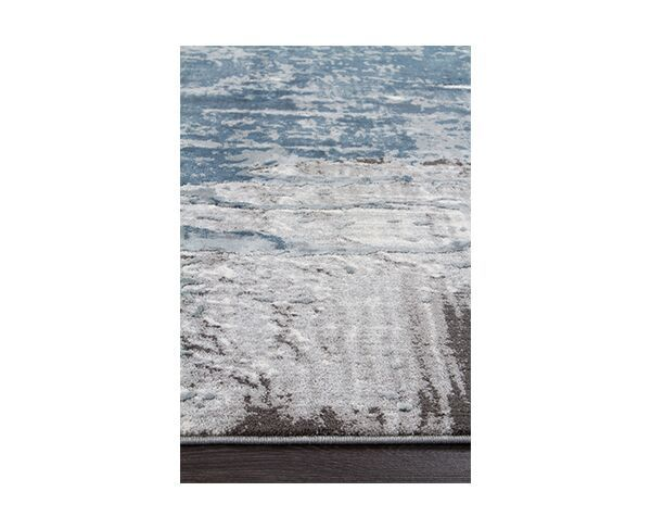 Kendra Blue Power Loomed Rug 4m x 3m