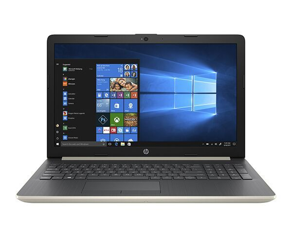"HP 15.6"" A6 Pale Gold Laptop"