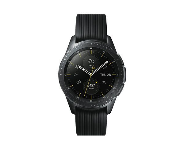 Samsung Galaxy 42mm Midnight Black Smart Watch