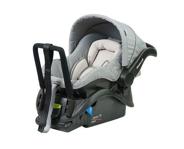 Steelcraft Baby Capsule Grey Linen
