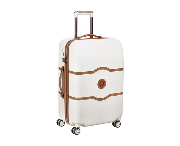 Delsey 67cm Chatelet Air 4 Double-Wheel Trolley Suitcase - Angora