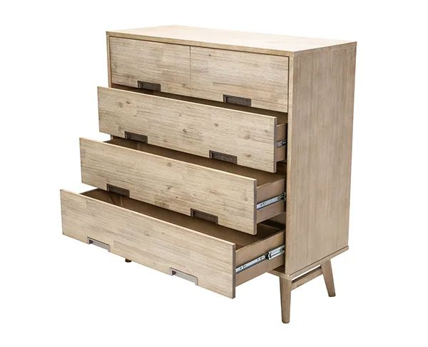 Tessa 4 drawer Tallboy