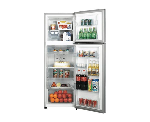 350L Hisense Top Mount Stainless Steel Fridge