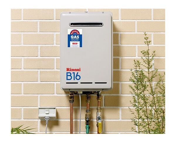 Rinnai B16 Natural Gas Continuous Flow Hot Water System