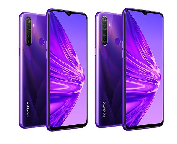 2 x realme 5 128GB Crystal Purple