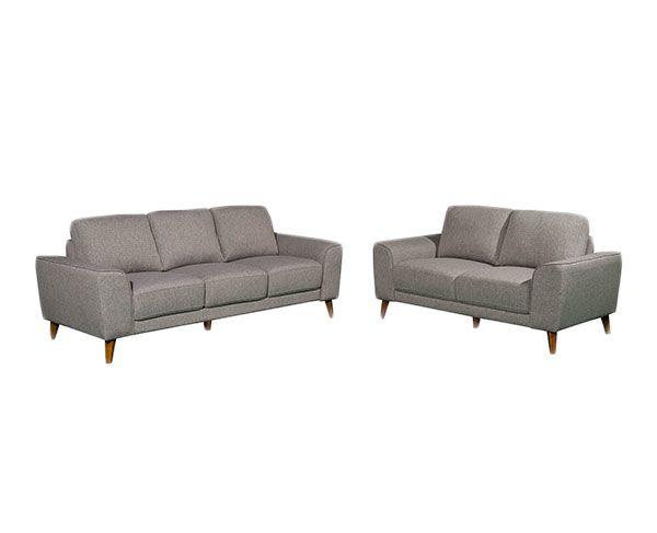 Brooke 3   2 Seat Sofa - Fog