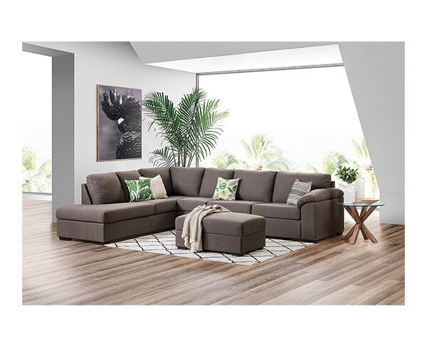 Rumpus 4 Seater Sofa Bed with Chaise & Ottoman