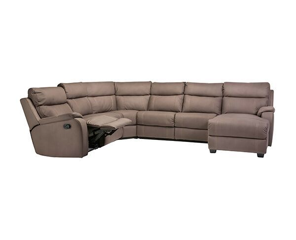 Porter 6 Seat Recliner with Chaise and Sofa Bed