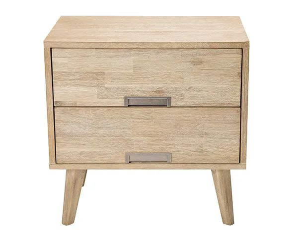 Tessa 2 drawer bedside table