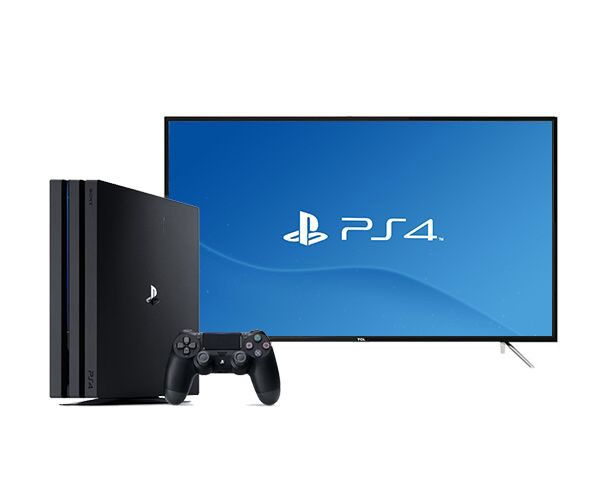 "TCL 49"" Full HD Smart TV   Sony Playstation 4 Pro Bundle"