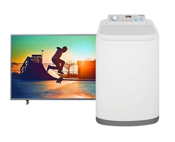 "Philips 55"" TV and Simpson Washing Machine Bundle"