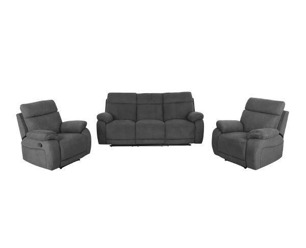 Fitzroy 3 Piece Recliner Suite