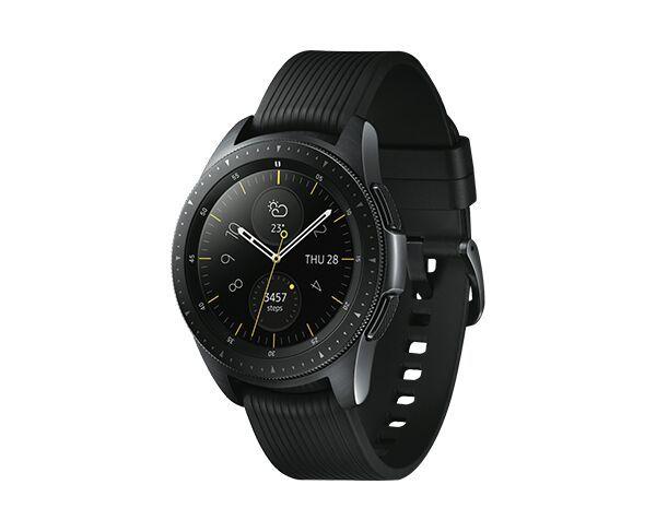 Samsung Galaxy 42mm Midnight Black Smart Watch