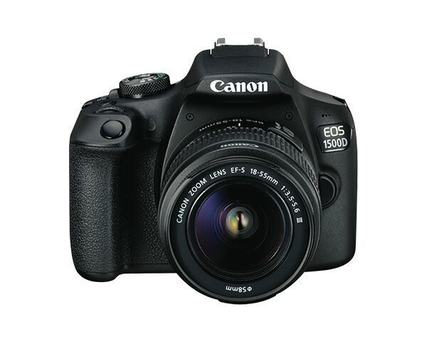Canon EOS 1500D Digital SLR Camera Bundle