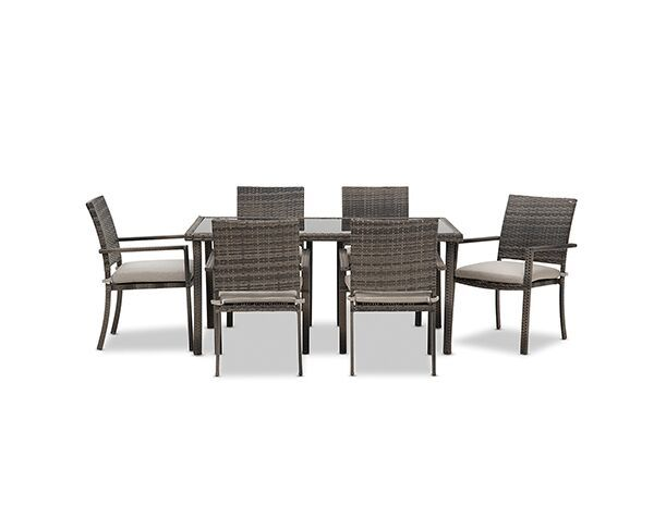 Riva 7 Piece Outdoor Setting