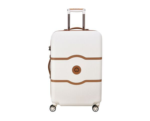 Delsey 77cm Chatelet Air 4 Double-Wheel Trolley Suitcase - Angora