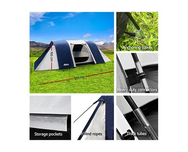 Weisshorn 12-Person Dome Tent
