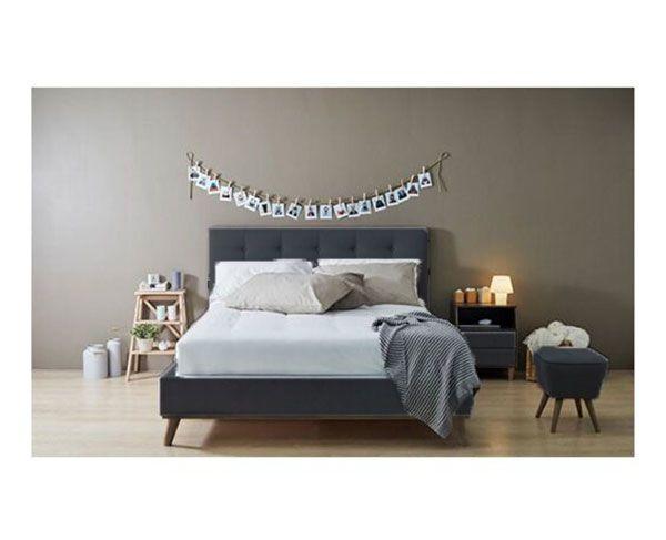 Saiga Queen Bed & Mattress Bundle