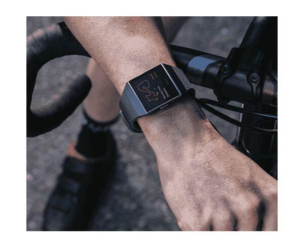 Fitbit Ionic Charcoal/Smoke Grey Smart Watch