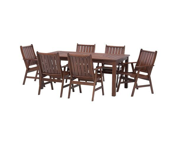 Bunbury 7 Piece Outdoor Setting