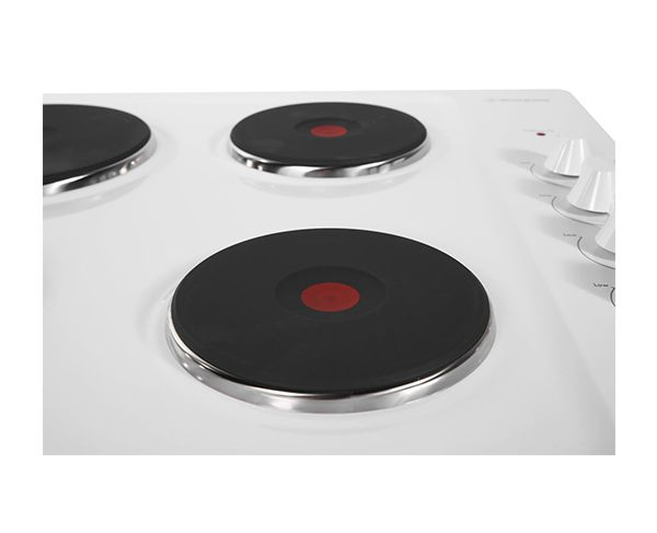 Westinghouse 60cm White Electric Cooktop