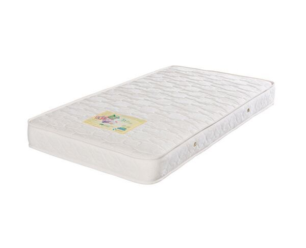 Boori Urbane Daintree Cot White   Mattress Bundle