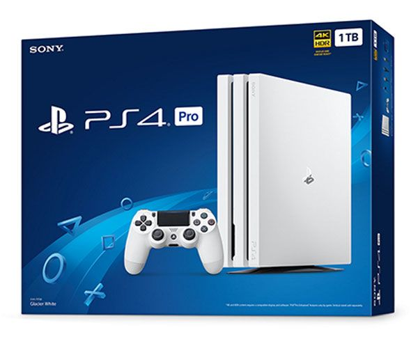 Playstation 4 Pro Console 1TB White
