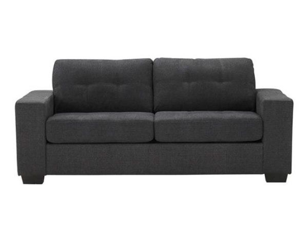 Tyler 2 & 3 Seater Sofa Fabric Charcoal