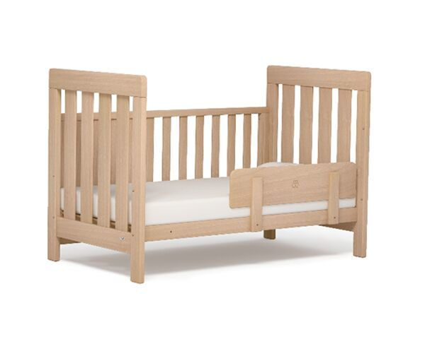 Boori Urbane Daintree Cot Almond   Mattress Bundle