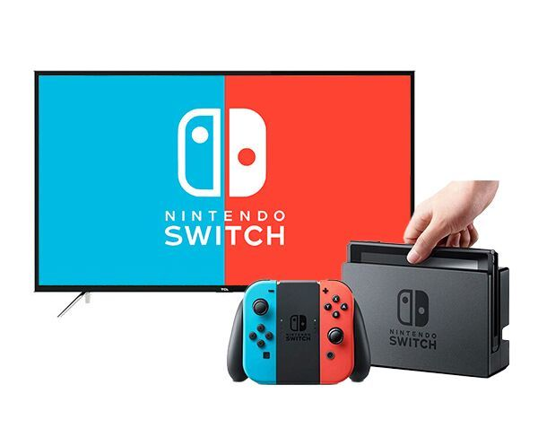 "TCL 49"" 6800 Full HD Smart TV   Nintendo Switch bundle"
