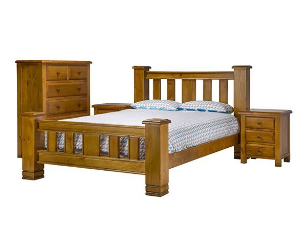 Lancaster 4 Piece Queen Bedroom Suite