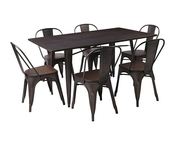 Loft 7 Piece Dining Suite