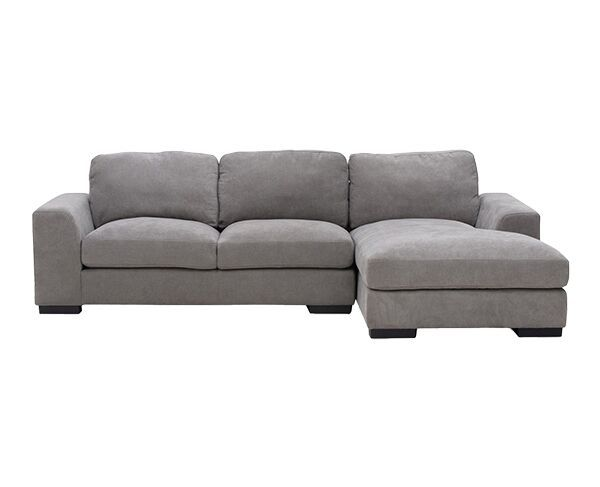 Marlow Fabric 3 Seater Chaise