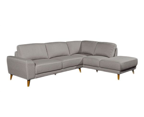 Brooke 4S Corner with Chaise - Fog