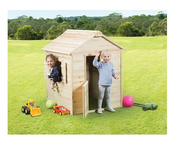 Swing Slide Climb Hut Cubby House