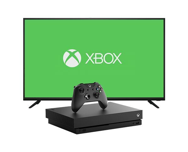 "Hitachi 40"" Full HD Smart TV   Xbox One X 1TB Bundle"