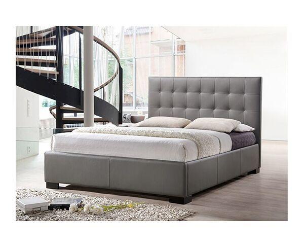 Raveena Double Bed - Grey