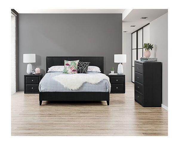 Bardot 4 Piece Queen Tall Chest Suite