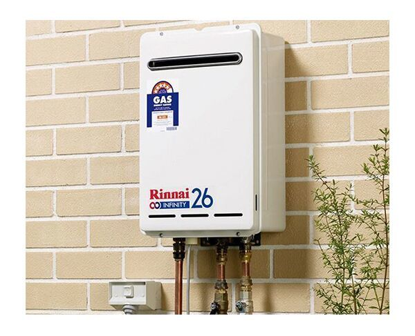Rinnai Infinity 26 Natural Gas Continuous Flow Hot Water System