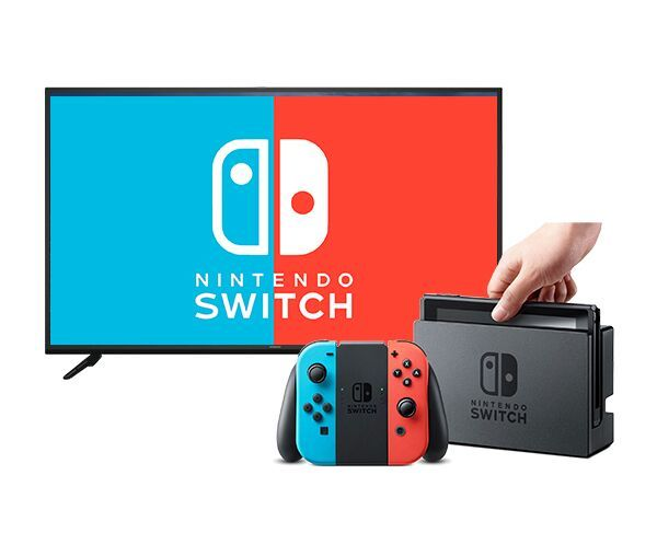 "Hitachi 40"" Full HD Smart TV   Nintendo Switch bundle"