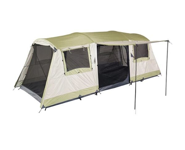 OzTrail 9 Person Green Bungalow Dome Tent